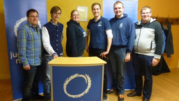 Austausch und Vernetzung sind Schwerpunkte des Vorstandes: Jan Meyer, Timo Käthner, Ina-Susann Birke, Peter Kockläuner, René Schröter und Bastian Horst (von links). Foto: Akyol